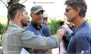 LE TRE ROSE DI EVA 3 - con Luca Capuano e Roberto Farnesi sul set