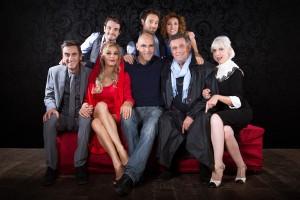 IL MARITO DI MIO FIGLIO - Il cast al completo con il regista Falleri