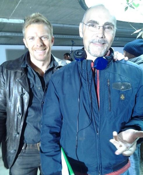 SOLO PER AMORE - con Kaspar Capparoni sul set