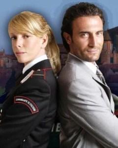 CARABINIERI 4 - Alessia Marcuzzi e Giorgio Borghetti