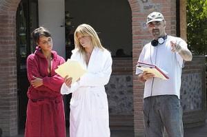 CARABINIERI 4 - sul set con Alessia Marcuzzi e Roberta Giarrusso