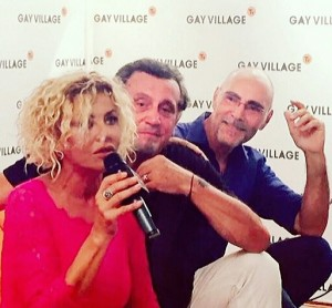IL MARITO DI MIO FIGLIO - Intervista al Gay Village con Eva Grimaldi e Andrea Roncato (2016)