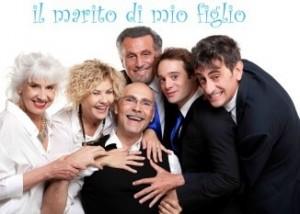 IL MARITO DI MIO FIGLIO - Il cast con il regista