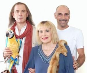 ODDIO MAMMA! - Franca Valeri, Urbano Barberini e il regista Daniele Falleri