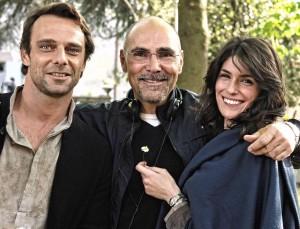 UN AMORE UNA VENDETTA - sul set con Alessandro Preziosi e Anna Valle