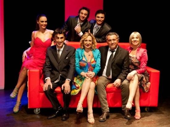 IL MARITO DI MIO FIGLIO - Il cast dell'edizione 2013: Scattini, Roncato, Giarrusso, De Silva, Fremont, Engleberth, Balsamo.
