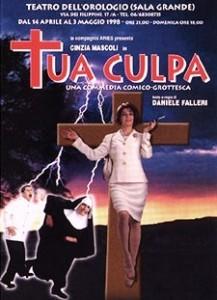 TUA CULPA - La locandina